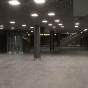 Rigas lidosta jauna terminala buvniecibas darbi