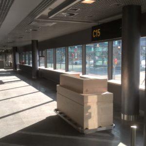 Rigas lidosta kolonas aptuveni 90gb